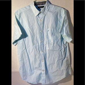 Men's Nautica Short Sleeve Shirt Medium